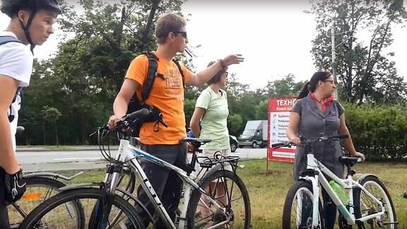 Männer, Frauen, Fahrräder