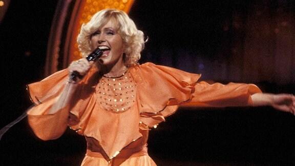 Sängerin Helena Vondrackova
