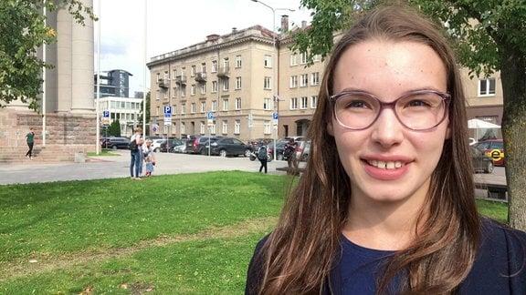 Litauische Studentin