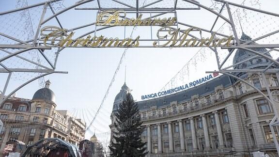 Weihnachtsmarkt Bukarest