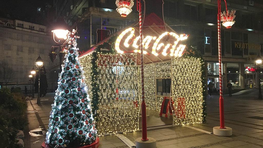 In Serbien gibt es den Weihnachtsbaum zu Silvester   MDR.DE