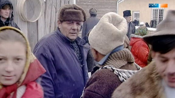 Weihnachtsmarkt in den Karpaten