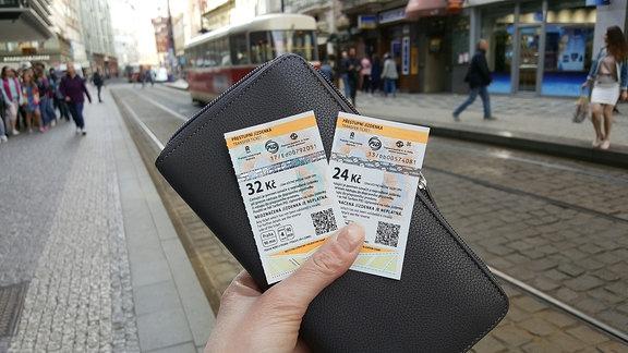 ÖPNV-Tickets