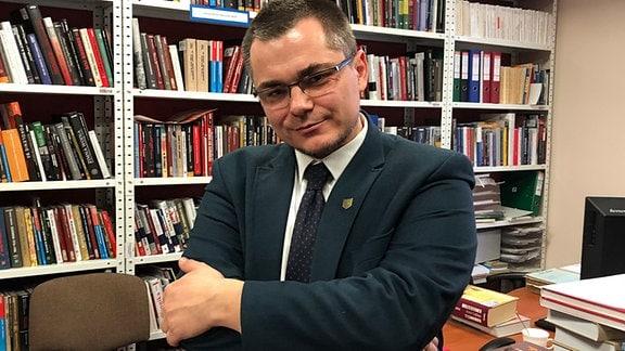 Karol Sacewicz, Leiter des IPN in Olsztyn