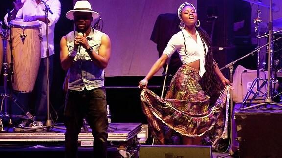 Die Profetas auf der Bühne