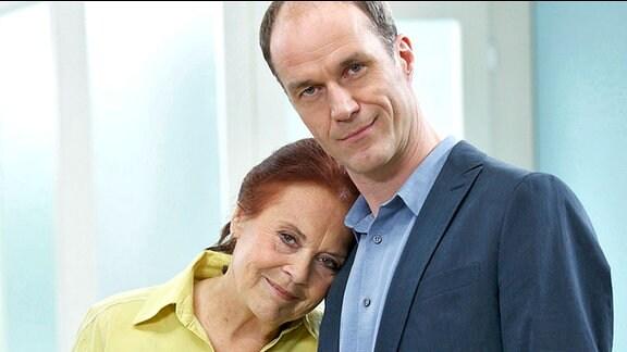 Ursula Karusseit (Charlotte Gauss) Holger Daemgen (Rolle Achim Kreutzer)