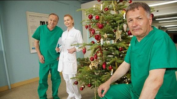 """Weihnachtsgrüße """"In aller Freundschaft"""""""