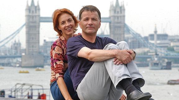Roland (Thomas Rühmann) und Pia Heilmann (Hendrikje Fitz)