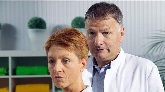 Dr. Roland Heilmann mit seiner Frau Pia
