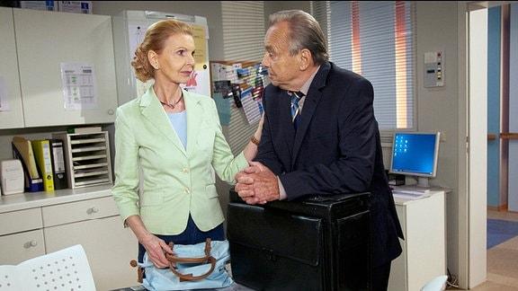 Prof. Simoni mit seiner Frau Ingrid