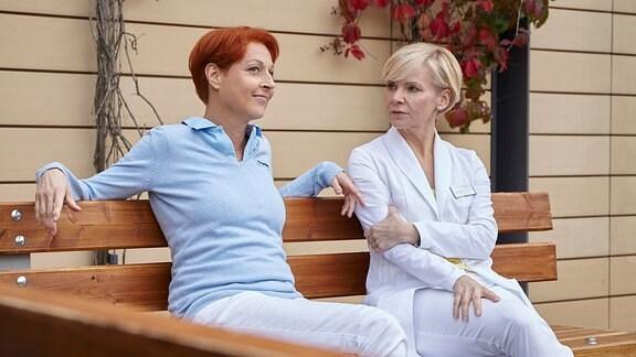 Pia Heilmann (Hendrikje Fitz) und Kathrin Globisch (Andrea Kathrin Loewig)