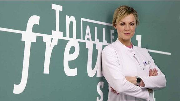 Anja Nejarri (Dr. Lea Peters)