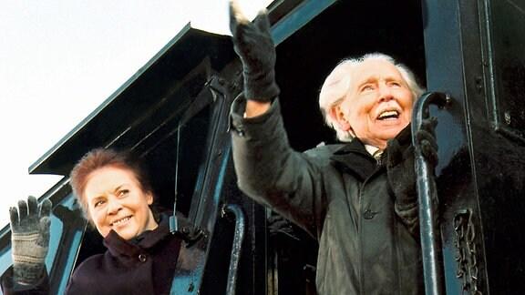 Ursula Karusseit und Fred Delmare