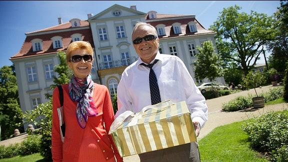 Dieter Bellmann und Jutta Kammann