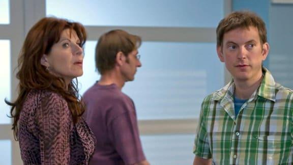 Vera mischt sich in den Konflikt zwischen Fabian und Dr. Kaminski ein.