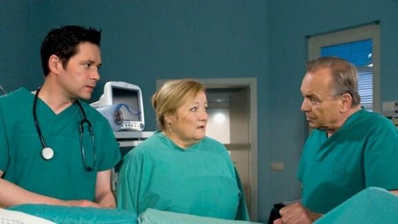 Helga Schulze will Dr. Heilmann nicht mehr sehen.
