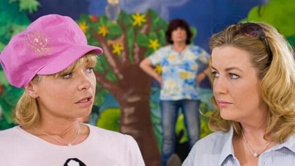 Sarah verdrängt Babsi von ihrer Rolle als Regisseurin.