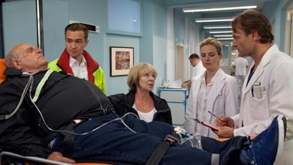 Ein Fahrradausflug endet für das Ehepaar Runge im Krankenhaus.