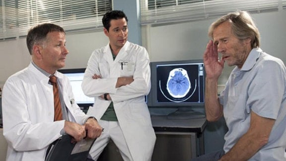 Die Ärzte stellen eine niederschmetternde Diagnose.