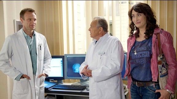 Prof. Simoni und Doktor Stein