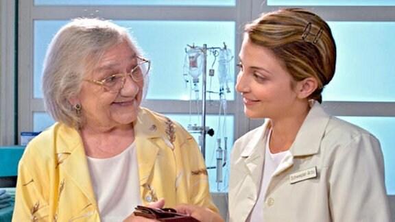 Zeitgleich muss auch Verena Stehle in der Klinik behandelt werden.