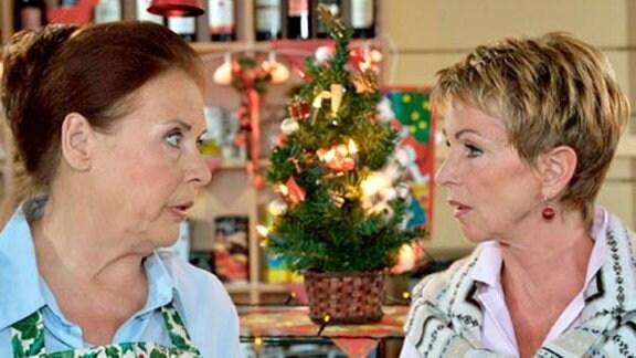 Sarah Marquardt hat die Organisation der Weihnachtsfeier verschwitzt.
