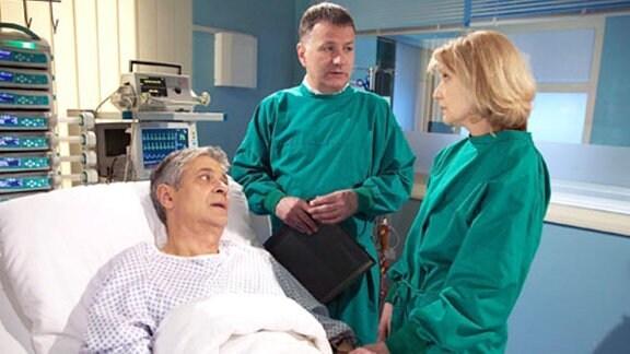 Thea Hufschmitt möchte ihrem Ehemann einen Teil ihrer Leber spenden.