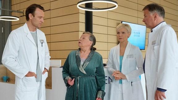 Marlies Böhmer hat von Dr. Kathrin Globischs Tochter Hanna erfahren, dass ihr Sohn Hannas Vater ist.