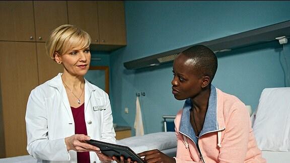 Dr. Kathrin Globisch und Imani Kutesa