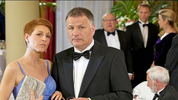 Pia Heilmann (Hendrikje Fitz) und Dr. Roland Heilmann (Thomas Rühmann)