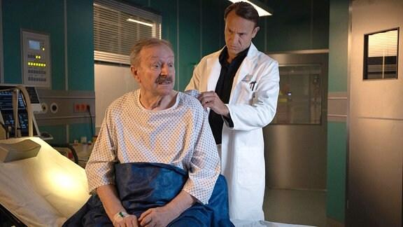 Gerhard Garbers als Berthold Schüller und Bernhard Bettermann als Dr. Martin Stein