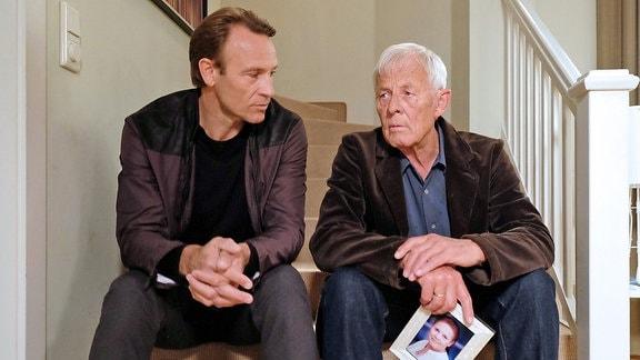 Martin (Bernhard Bettermann) und Otto (Rolf Becker)