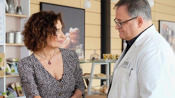 Isabel Varell als Linda Schneider und Michael Trischan als Hans-Peter Brenner