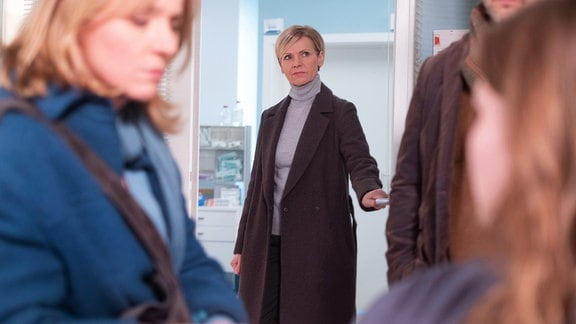 Andrea Kathrin Loewig als Dr. Kathrin Globisch