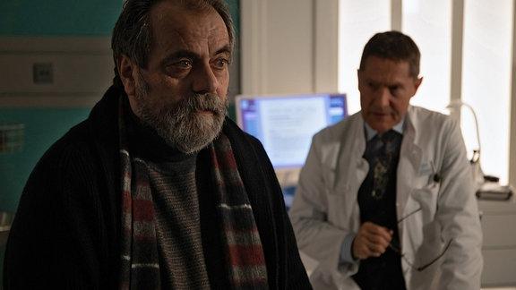 Udo Schenk als Dr. Rolf Kaminski und Matthias Brenner als Dieter Habermann