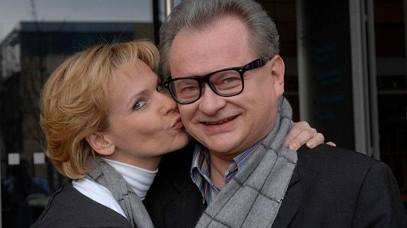 Heinz Rudolf Kunze, Andrea Kathrin Loewig (v.r.)