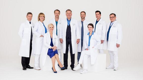 Ärzteteam der Sachsenklinik