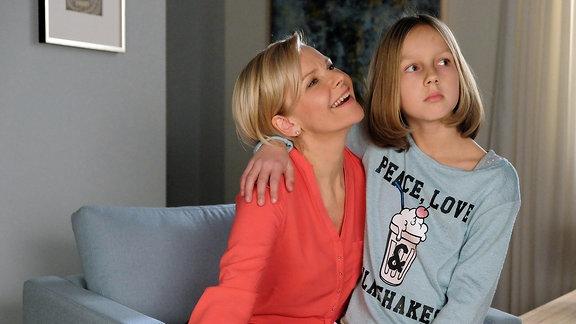Andrea Kathri Loewig und Filmtochter Lana