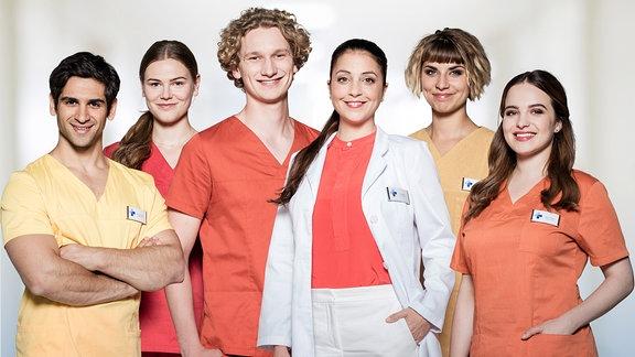 Kiran Petrescu (Daniel Rodic), Louisa Neukamm (Llewellyn Reichman), Fiete Petersen (Adrian Gössel), Arzu Ritter (Arzu Bazman), Ramona 'Mo' Unruh (Jaëla Carlina Probst), Jasmin Hatem (Leslie-Vanessa Lill)