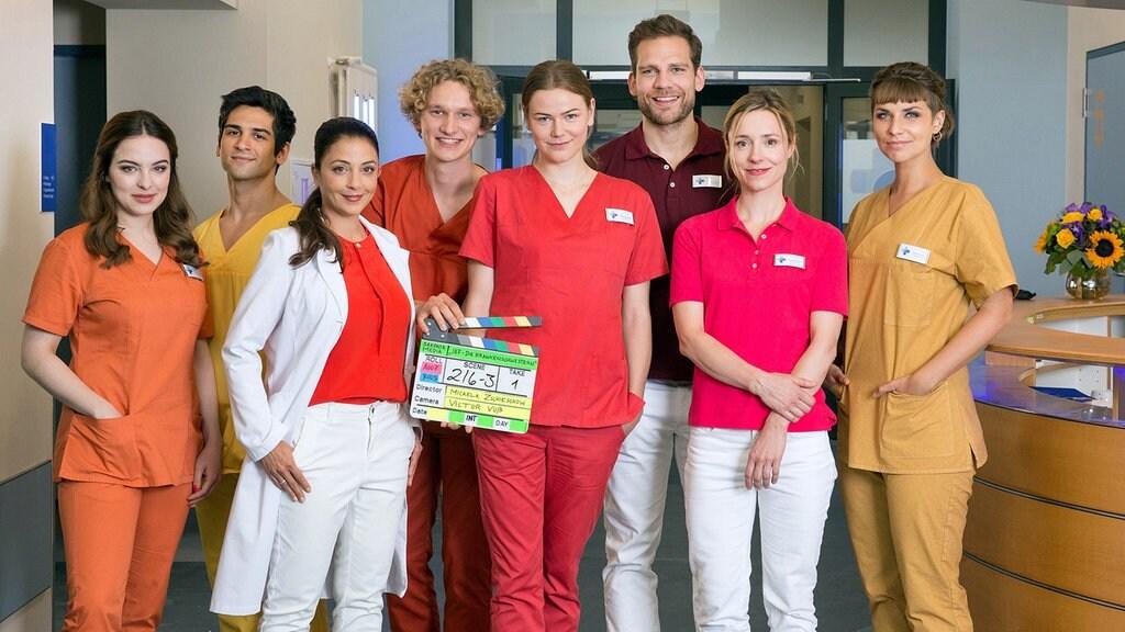 Drehstart Für In Aller Freundschaft Die Krankenschwestern Das