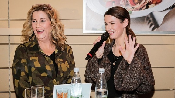 Alexa Maria Surholt im Interview mit Annett Renneberg.