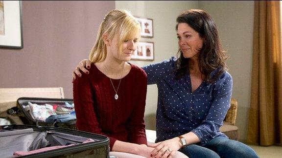 Marie Stein ist untröstlich über die Entwicklung zwischen Elena und Martin.