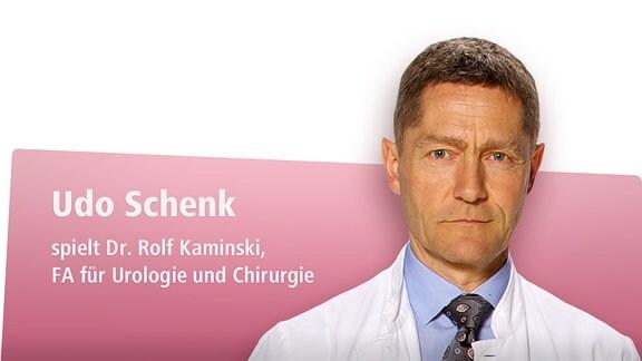 Udo Schenk spielt Dr. Rolf Kaminski