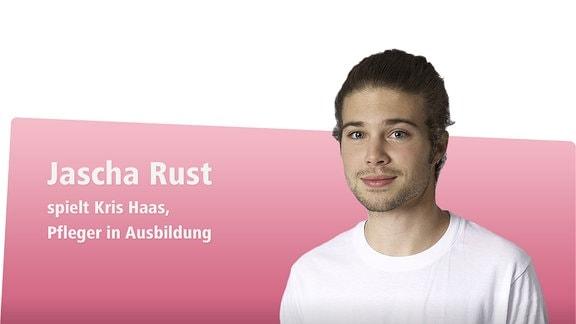 Jascha Rust spielt: Kris Haas - Pfleger in Ausbildung