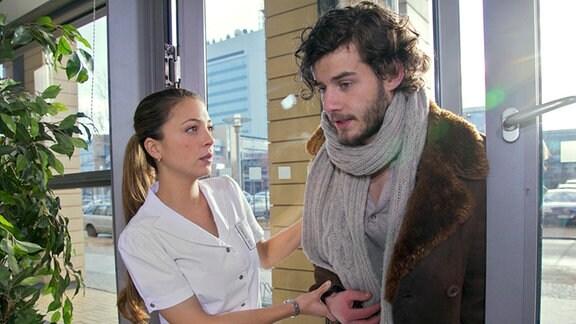 """Szene aus Folge 554 von """"In aller Freundschaft"""""""
