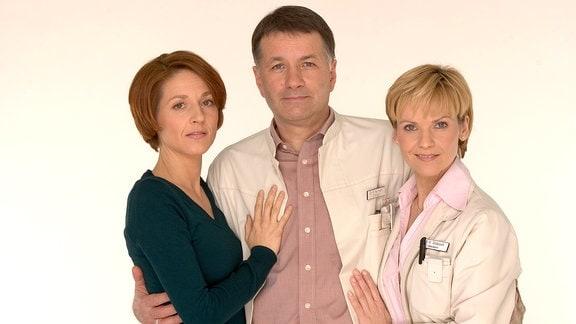 Hendrikje Fitz, Thomas Rühmann und Andrea Kathrin Loewig