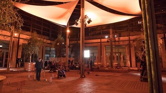 Nachts in der Sachsenklinik