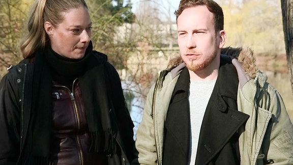Annett Krause und Johann-Christof Laubisch