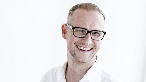 Der Sprecher Patrick Rohbeck