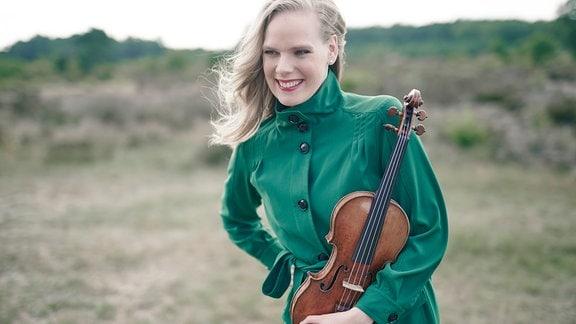 Die Geigerin Simone Lamsma